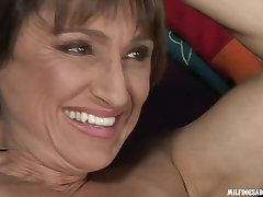 Horny MILF Jillian Foxxx in hard interracial video