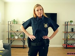 Britney Amber - My Step Mom Is A Cop