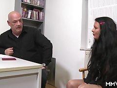 Inhaling put emphasize interviewee
