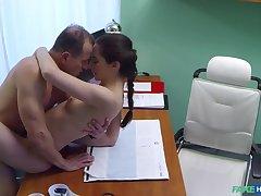 Russian babe wants Doctors cum
