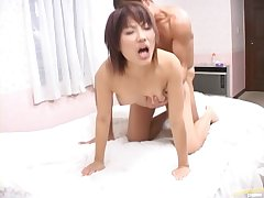 Amateur pic be beneficial to nice fucking with shaved pussy Mirai Hoshino