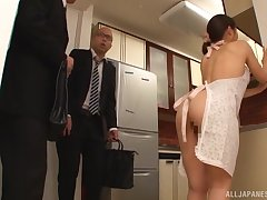 Addictive home anal in all directions the Japanese wife