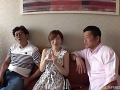 Satomi Yuria likes to bang with more guys at the same time