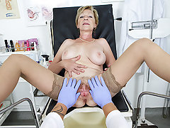 hairy grandma fucked by the brush doctor
