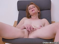 Euro milf Alex not under any condition fails apropos impress with her big tits