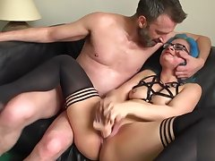 Real goth gets the feeling banged and fucked