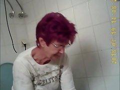 voyeur granny toilet panty