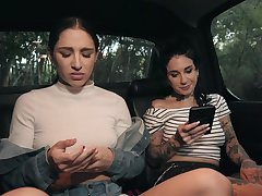 Outdoor fucking in the local woods with pornstar Abella Danger