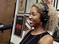 Dramatize expunge kinkiest podcast with ebony teen Lotus Lain
