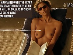 Halle Berry reading record with her titties out and go off at a tangent woman is stupid hot