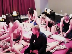 Naked swingers are bringing off copulation games