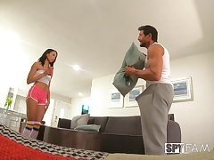 Spy cam recollections Alexis Tae have a go wild sexual relations with a neighbor. HD